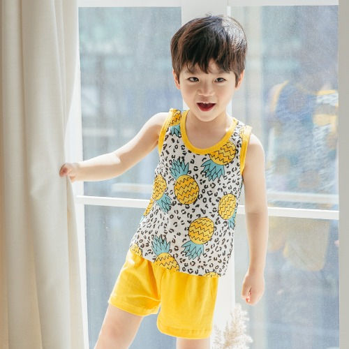 PUCO - BRAND - Korean Children Fashion - #Kfashion4kids - Leopard Pine Easywear
