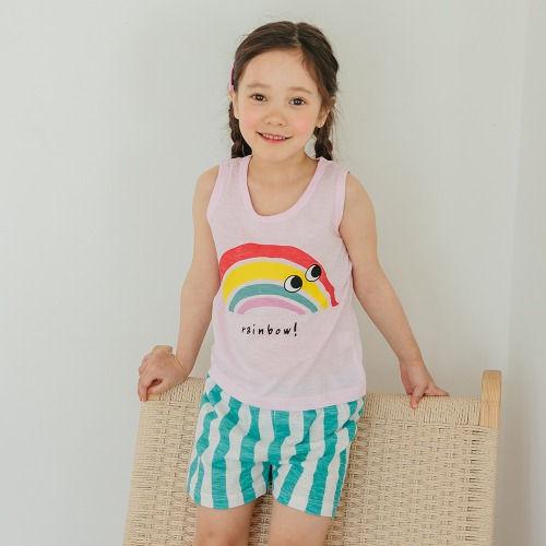 PUCO - BRAND - Korean Children Fashion - #Kfashion4kids - Rainbow Easywear