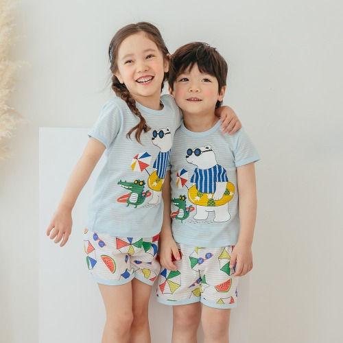 PUCO - BRAND - Korean Children Fashion - #Kfashion4kids - Summer Picnic Easywear