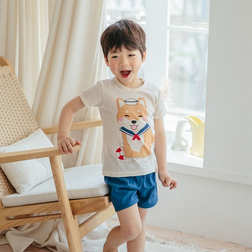 PUCO - BRAND - Korean Children Fashion - #Kfashion4kids - Marine Dog Easywear