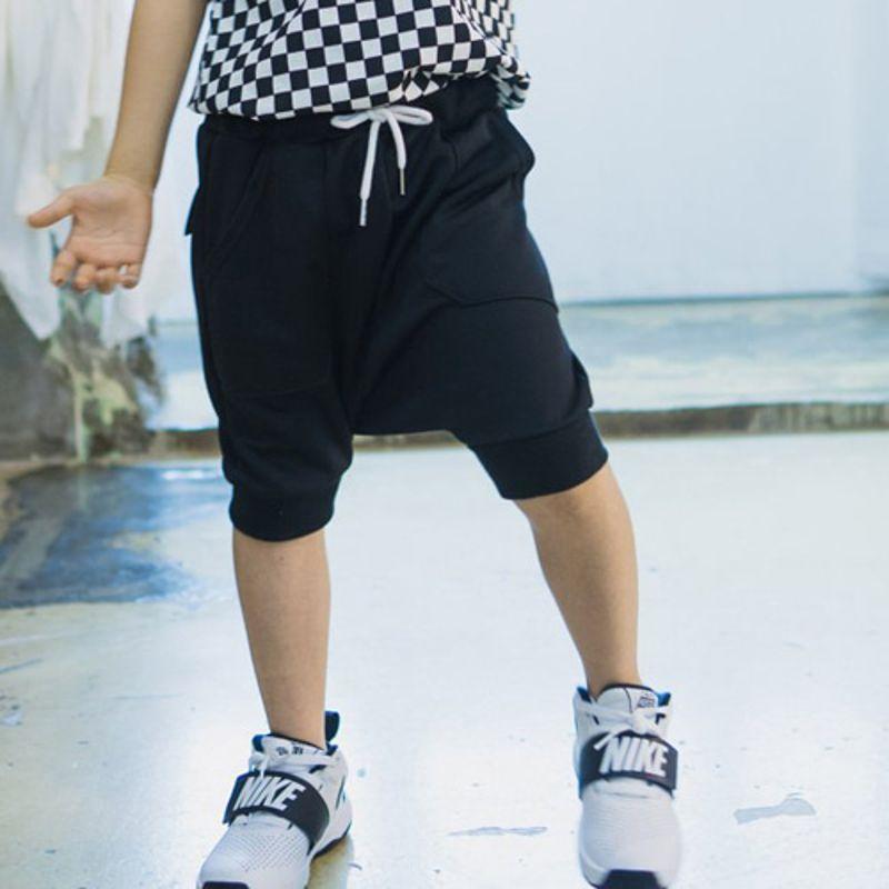 RAKU - BRAND - Korean Children Fashion - #Kfashion4kids - Half Baggy Pants