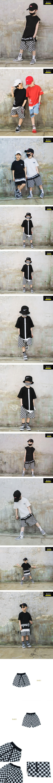 RAKU - Korean Children Fashion - #Kfashion4kids - Checker Pants
