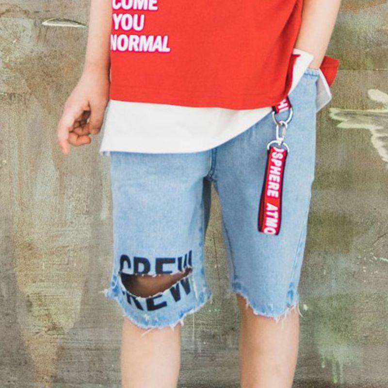 RAKU - BRAND - Korean Children Fashion - #Kfashion4kids - Crew Pants