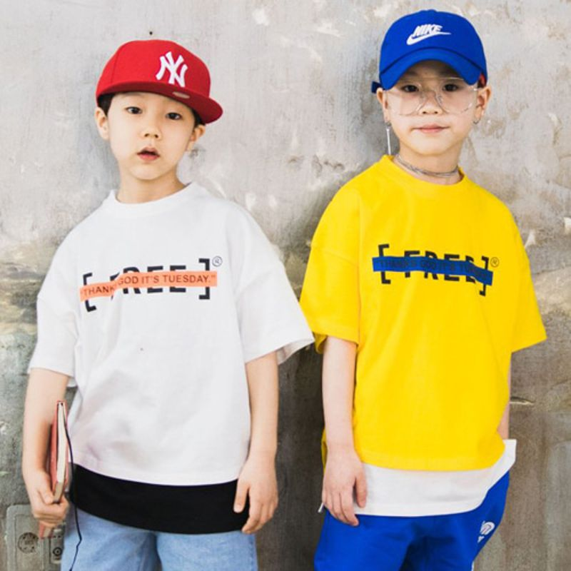 RAKU - BRAND - Korean Children Fashion - #Kfashion4kids - Free Tee