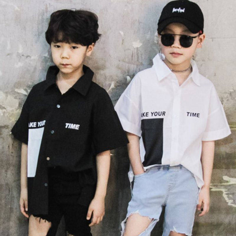 RAKU - BRAND - Korean Children Fashion - #Kfashion4kids - Take Shirt