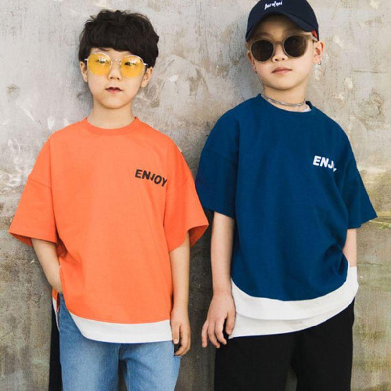RAKU - BRAND - Korean Children Fashion - #Kfashion4kids - Enjoy Tee