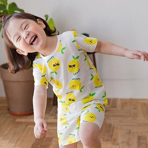 TTASOM - BRAND - Korean Children Fashion - #Kfashion4kids - Lemon Easywear