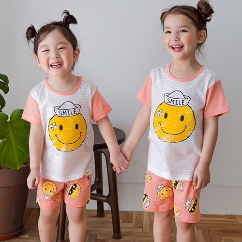 TTASOM - BRAND - Korean Children Fashion - #Kfashion4kids - Captain Smile Easywear