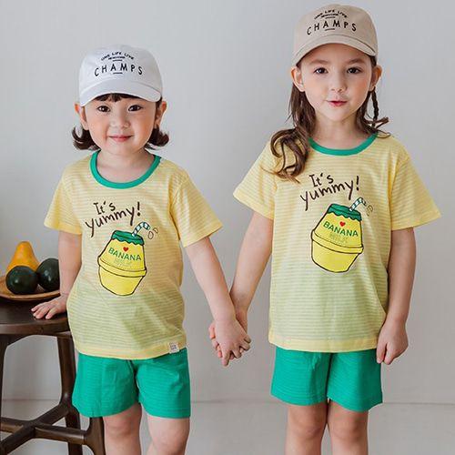 TTASOM - BRAND - Korean Children Fashion - #Kfashion4kids - Yellow Milk Easywear
