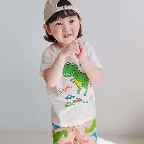 TTASOM - BRAND - Korean Children Fashion - #Kfashion4kids - Stop Dino Easywear