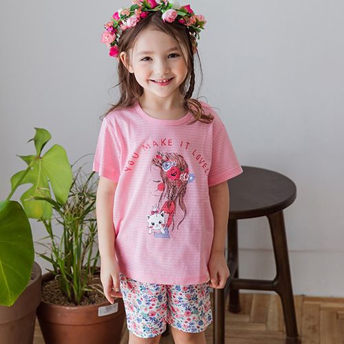 TTASOM - BRAND - Korean Children Fashion - #Kfashion4kids - Lovely Girl Easywear