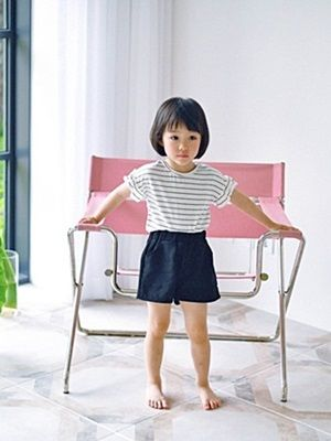 WANDOOKONG - BRAND - Korean Children Fashion - #Kfashion4kids - Iky Stripe Tee