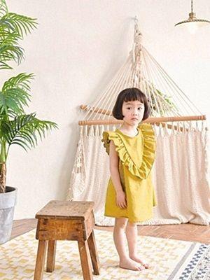 WANDOOKONG - BRAND - Korean Children Fashion - #Kfashion4kids - Jabbel Frill Dress