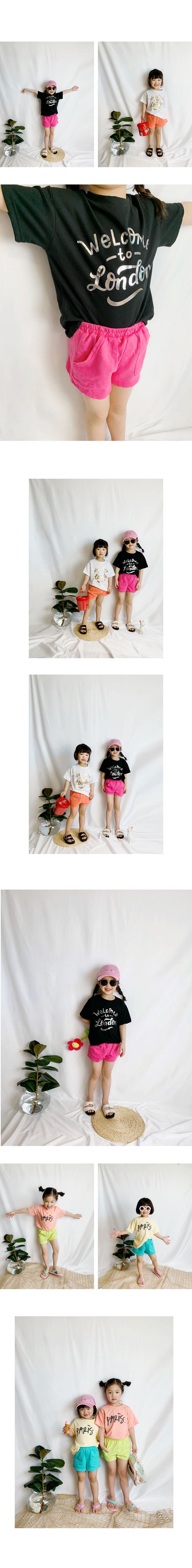 WHITESKETCHBOOK - Korean Children Fashion - #Kfashion4kids - Cutie Pocket Pants