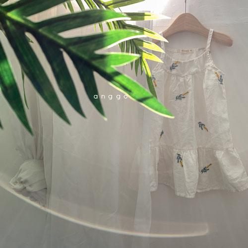 ANGGO - Korean Children Fashion - #Kfashion4kids - Papaya One-piece - 2