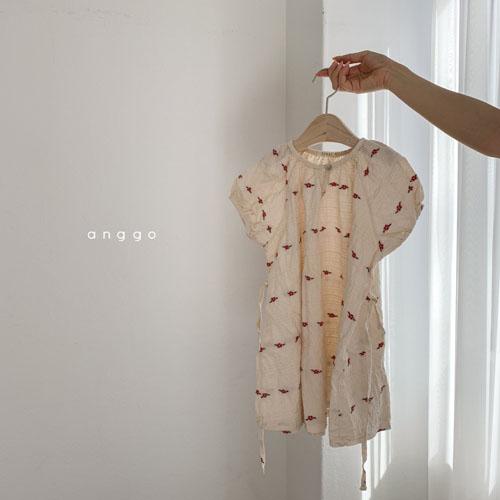 ANGGO - Korean Children Fashion - #Kfashion4kids - Blossom One-piece