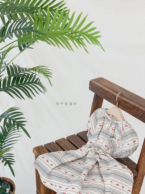 ANGGO - Korean Children Fashion - #Kfashion4kids - Blossom One-piece - 10