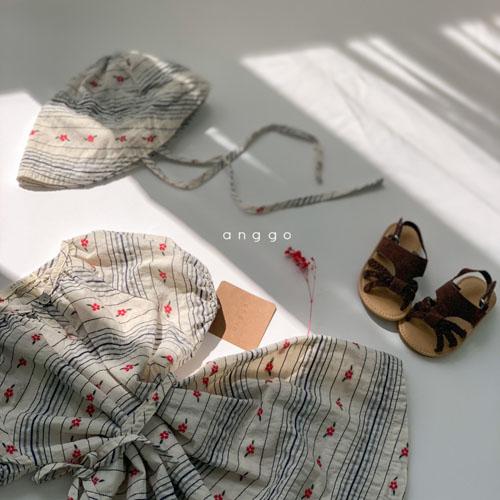 ANGGO - Korean Children Fashion - #Kfashion4kids - Blossom One-piece - 11