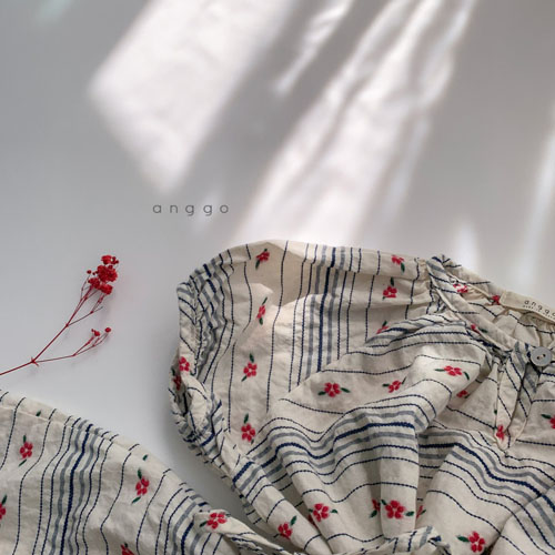ANGGO - Korean Children Fashion - #Kfashion4kids - Blossom One-piece - 12
