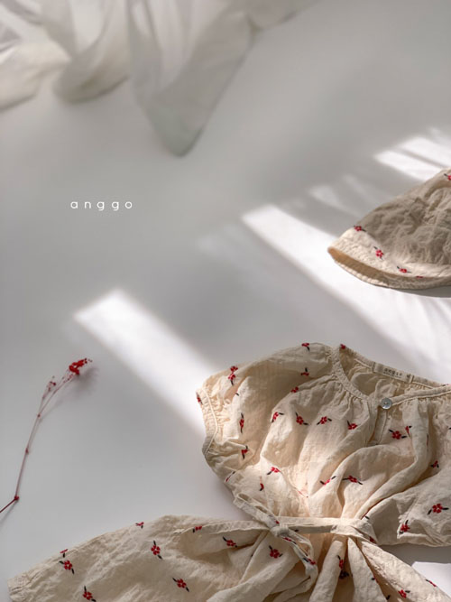 ANGGO - Korean Children Fashion - #Kfashion4kids - Blossom One-piece - 2