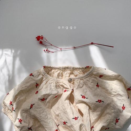 ANGGO - Korean Children Fashion - #Kfashion4kids - Blossom One-piece - 5