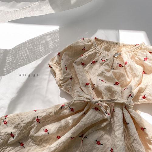 ANGGO - Korean Children Fashion - #Kfashion4kids - Blossom One-piece - 7