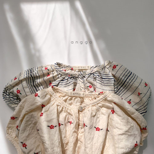ANGGO - BRAND - Korean Children Fashion - #Kfashion4kids - Blossom One-piece