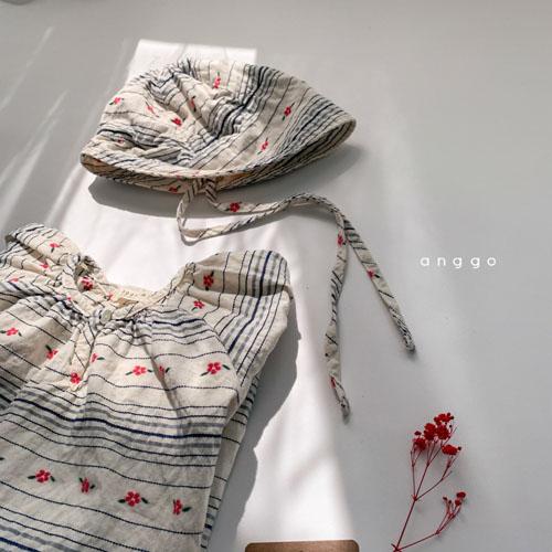 ANGGO - Korean Children Fashion - #Kfashion4kids - Blossom Bonnet - 8