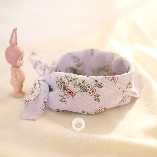 ARIM CLOSET - BRAND - Korean Children Fashion - #Kfashion4kids - Lovely Violet Baby Petite Scarf