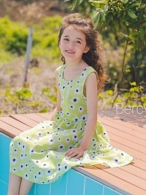BERCY - BRAND - Korean Children Fashion - #Kfashion4kids - Daisy One-piece