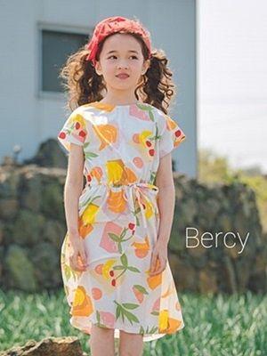 BERCY - BRAND - Korean Children Fashion - #Kfashion4kids - Cherry One-piece