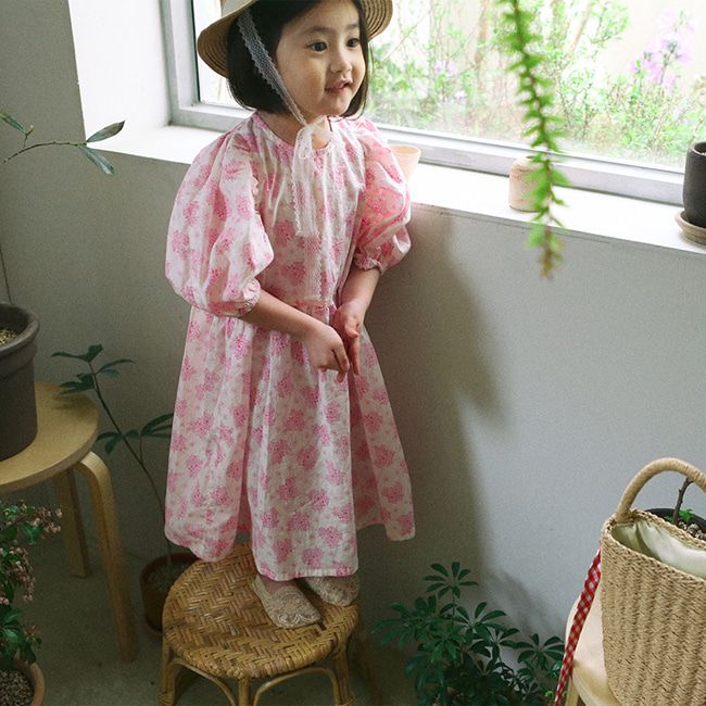 BIEN A BIEN - BRAND - Korean Children Fashion - #Kfashion4kids - Sky One-piece