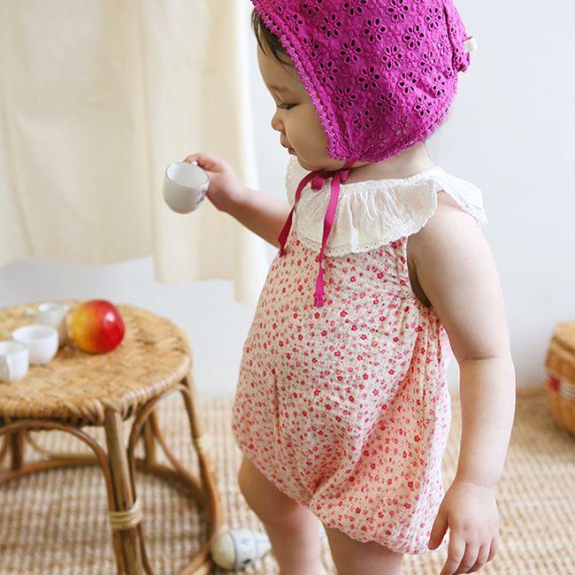 BIEN A BIEN - BRAND - Korean Children Fashion - #Kfashion4kids - Baby New Frill Bodysuit