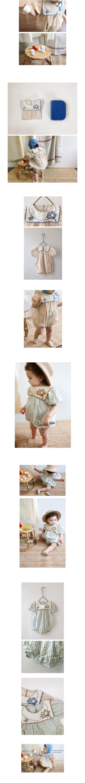 BIEN A BIEN - Korean Children Fashion - #Kfashion4kids - Baby Wing Bodysuit - 2