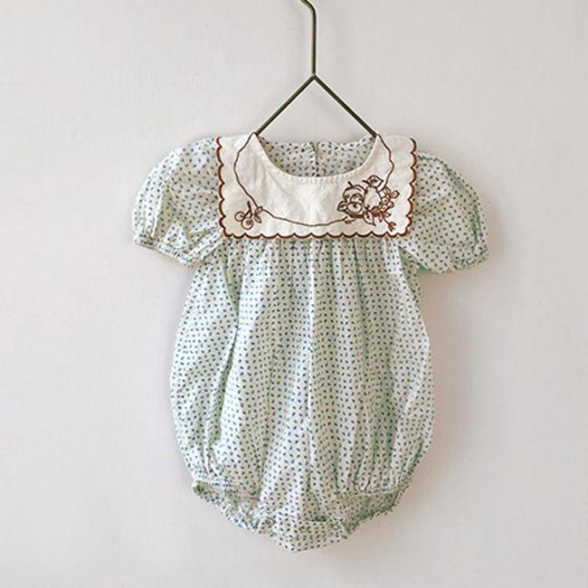 BIEN A BIEN - BRAND - Korean Children Fashion - #Kfashion4kids - Baby Wing Bodysuit