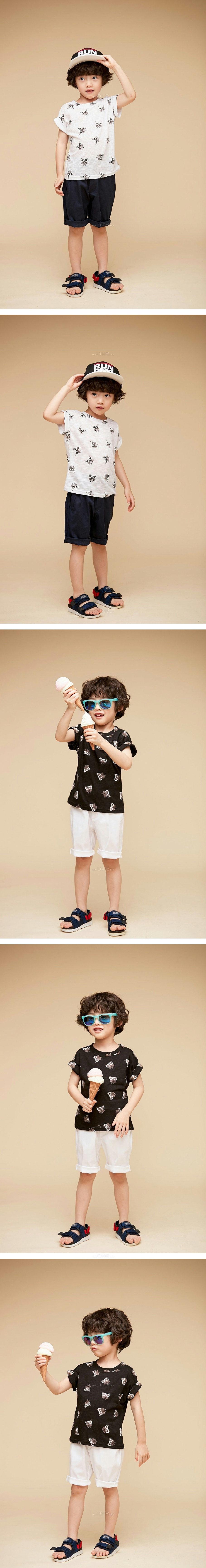 COCO BANG - Korean Children Fashion - #Kfashion4kids - Owl Tee