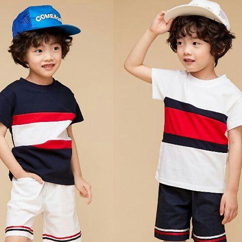 COCO BANG - BRAND - Korean Children Fashion - #Kfashion4kids - Marine Pants