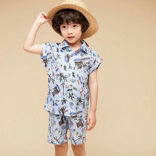 COCO BANG - BRAND - Korean Children Fashion - #Kfashion4kids - Malibu Top Bottom Set