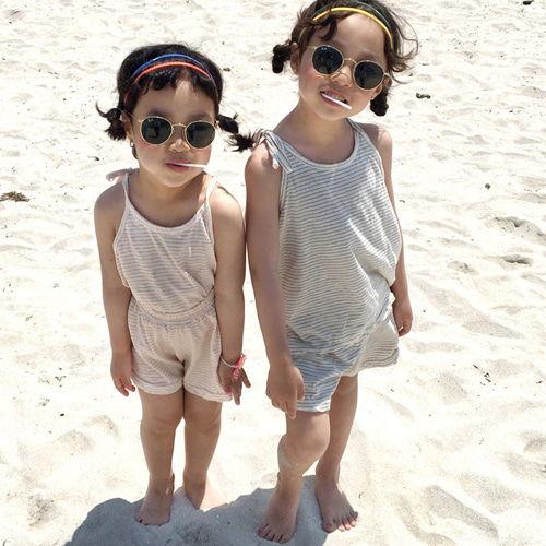 CONCOCTER - BRAND - Korean Children Fashion - #Kfashion4kids - Cona Sleeveless Top Bottom Set
