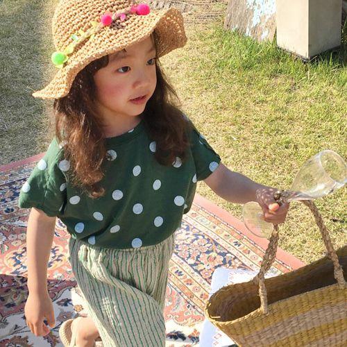 CONCOCTER - BRAND - Korean Children Fashion - #Kfashion4kids - Waikiki Dot Sleeveless Top