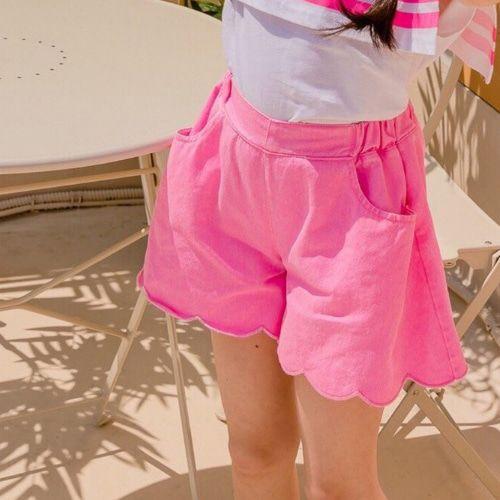 DORE DORE - BRAND - Korean Children Fashion - #Kfashion4kids - Wave Short Pants