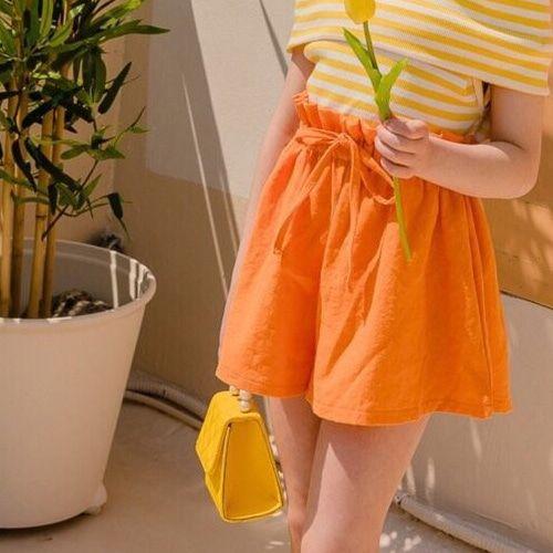 DORE DORE - BRAND - Korean Children Fashion - #Kfashion4kids - Banding Skirt Pants