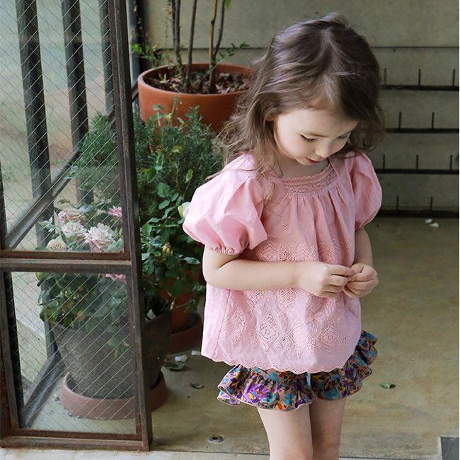 FLO - BRAND - Korean Children Fashion - #Kfashion4kids - Bersoe Blouse