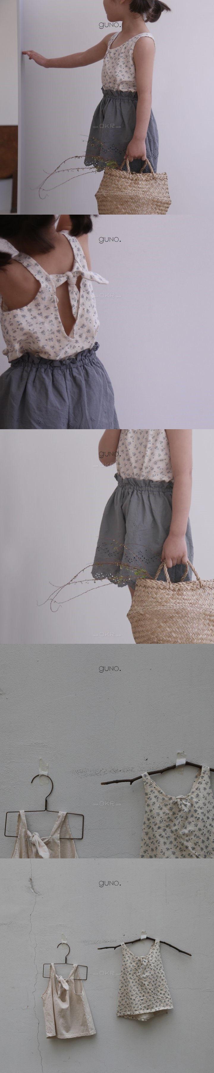 GUNO - Korean Children Fashion - #Kfashion4kids - Ribbon Tee