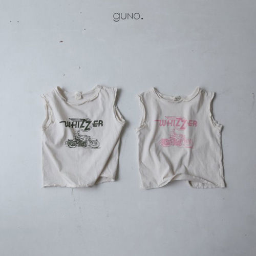 GUNO - BRAND - Korean Children Fashion - #Kfashion4kids - Motobike Tee