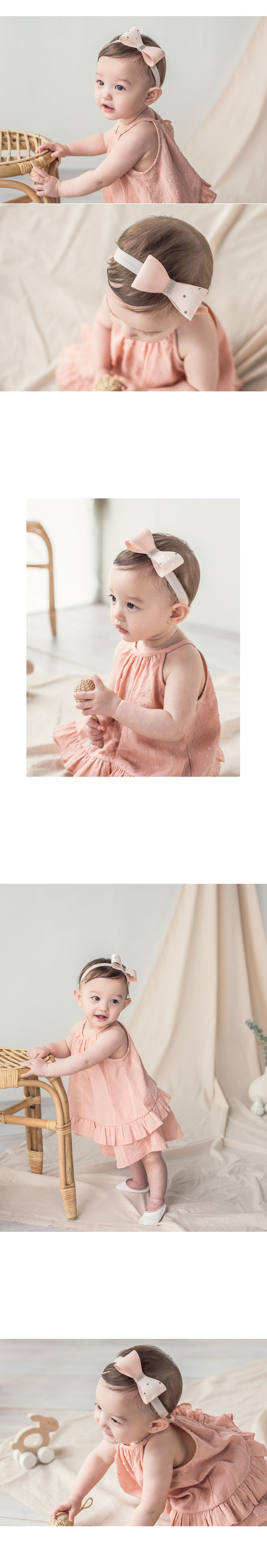 HAPPY PRINCE - Korean Children Fashion - #Kfashion4kids - Charlotte Hairband [set of 5] - 2