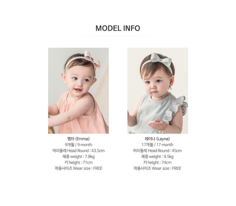 HAPPY PRINCE - Korean Children Fashion - #Kfashion4kids - Charlotte Hairband [set of 5] - 8