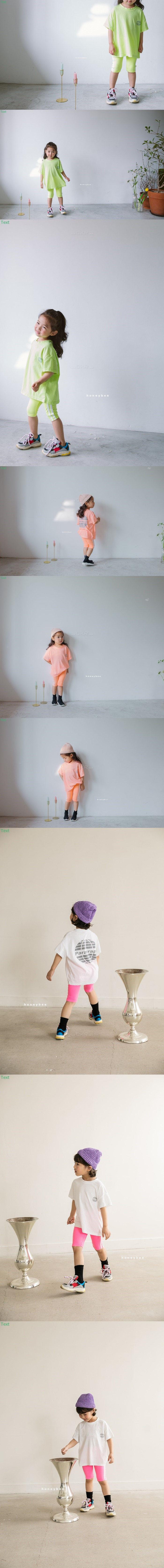 HONEYBEE - Korean Children Fashion - #Kfashion4kids - Short Leggings