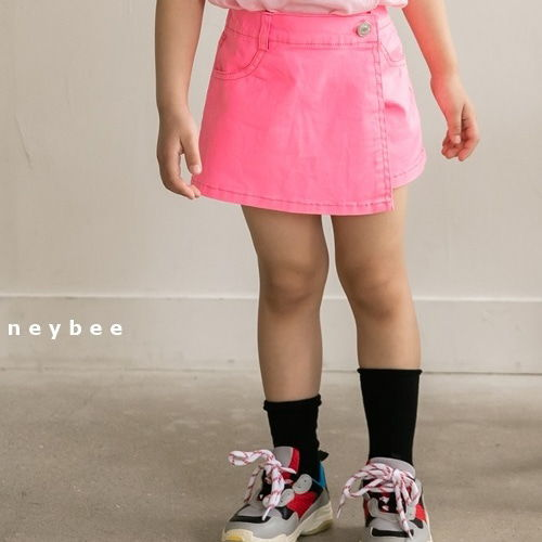 HONEYBEE - BRAND - Korean Children Fashion - #Kfashion4kids - Neon Skirt Pants