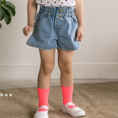 HONEYBEE - BRAND - Korean Children Fashion - #Kfashion4kids - Button Short Pants
